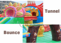 Eagle Plan Giant Inflatable Fun City Inflatable Bounce House For Children And Adult